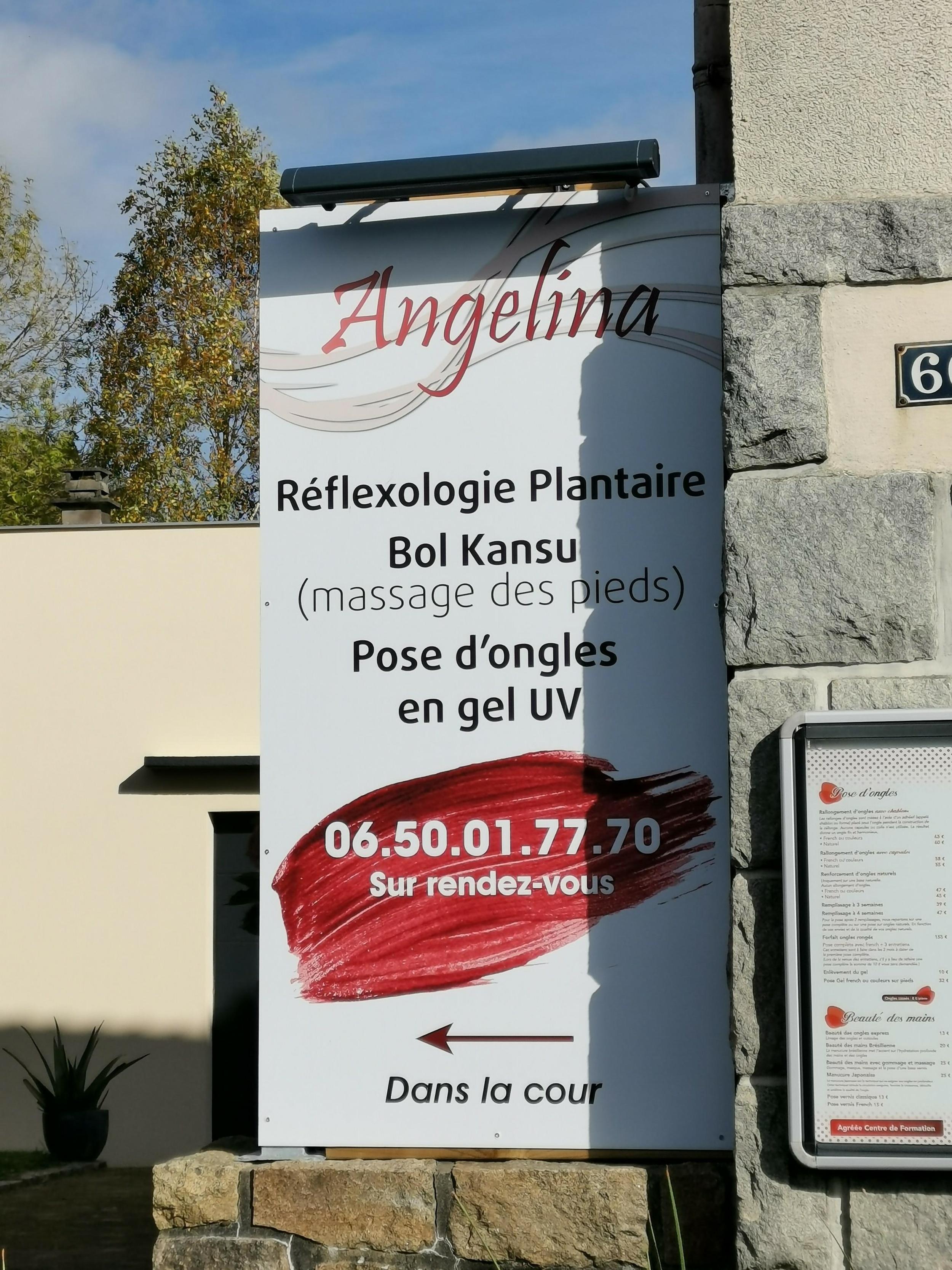 Panneaux pour Angelina